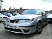 2004 Saab 9-5 2.3 HOT Aero 250 Manual 1 Owner 70k Fsh 13 Service Stamps