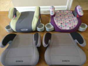 Graco and Cosco Booster Seats