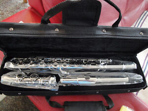 SILVER FLUTE 16 E KEYS ALL INCLUDED BRAND NEW $175