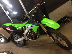 2012 Kawasaki KX250f Dirt Bike with Pro Circuit Motor