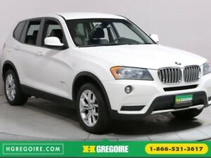 2014 BMW X3 xDrive28i MAGS A/C BLUETOOTH CUIR
