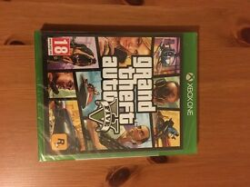 GTA 5 Xbox one, brand new and sealed
