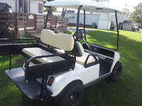 ELECTRIC GOLF CART FULLY RESTORED