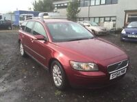54 plate Volvo V50 estate brand new clutch fitted recently