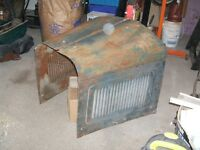 1928 1929 Willys Whippet Hood Complete w little rust Model 96A?