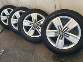 """17 """" VW TRANSPORTER T5 T6 HIGHLINE Alloy wheels"""