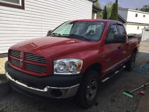 2008 dodge ram big horn 5.7 hemi tow package