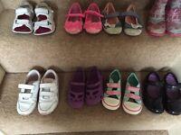 Bundle of girls shoes size uk 9-10