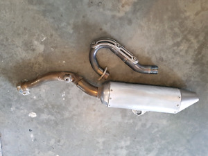 2007 YZ250F Exhaust System