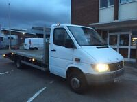 Mercedes sprinter 412 4.5ton recovery truck