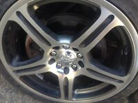 """Primax 17"""" rims with 205/40/17 low pros"""