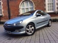 Peugeot 206 CC16v SE 2d+++AUTOMATIC++LOOK++ONLY 30,000miles++1 OWNER FROM NEW