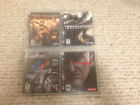 Various PS3 Games - Five Dollars Each