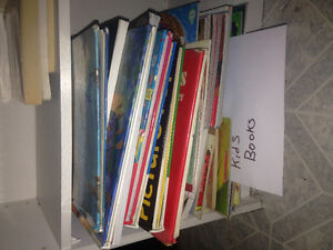 All kinds of books for sale