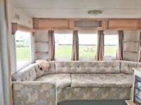 2007 static caravan 35ft 8 berth on a 12 month park pet friendly beach access