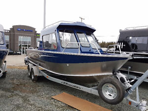 Hewescraft Outboard fishing boats