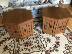 Living Room End Table Set