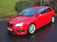 Ford Focus 2.5 ST-2 (red) 2005