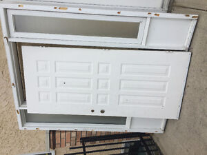 Front door with two sidelights