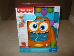 Fisher Price Zoom N' Crawl Monster Toy (Brand New!)
