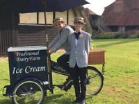 Ice Cream Tricycle (ice cream bike) -Wedding Hire Service