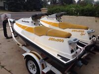 2 89 seadoos for sale w/double easy loader trailer