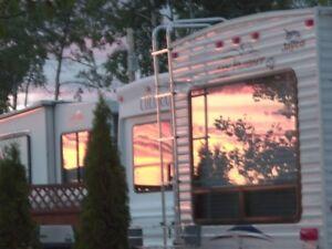Cluculz Lake Strata Lot and Trailer