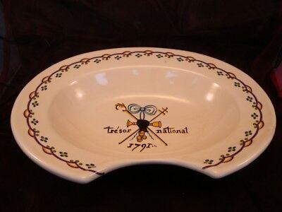 Shaving dish Freemason Porcelain Enamels