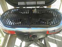 Coleman BBQ with stand