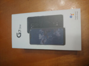 Brand new unlocked LG G7 One for trade PS4 and tv or $400