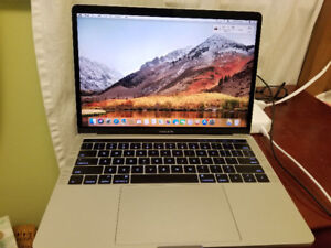 """2016 Macbook Pro 13"""" - Touchbar, 2.9 GHz i5, 8gig Ram, 512g SSD"""