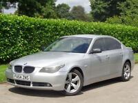 BMW 525 2005 2.5TD SE***FULL BLACK LEATHER + LONG MOT***