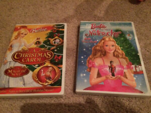 Christmas Barbie DVDs
