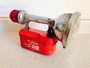 Vintage Big Beam no 164 Beacon Lamp / Flashlight