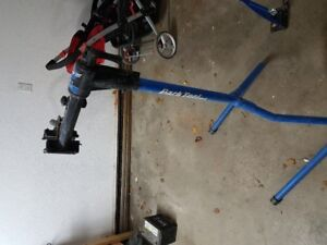 Wheel truing stand by Park Tool
