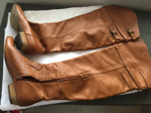 Aldo genuine leather knee high boots- brand new condition!