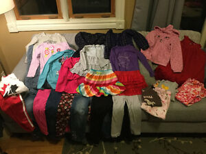 Size 5 Girls Clothing Lot
