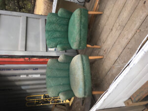 Vintage Original KROEHLER  chairs.