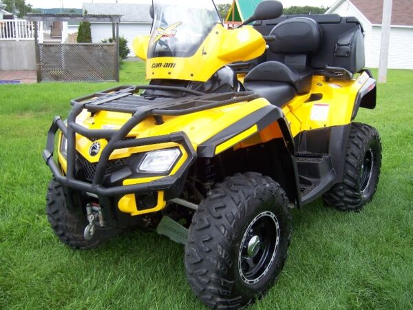 Used 2009 Bombardier outlander can am