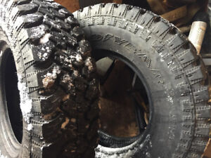 Two 235 /85 / R16 Goodyear tires