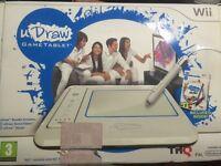 Wii u draw tablet