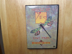 "FS: Yes (British Band) ""Live From The House Of Blues"" DVD London Ontario image 1"