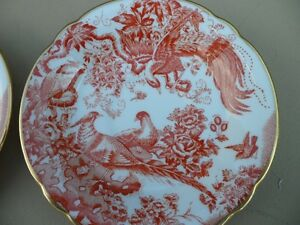 Royal Crown Derby Red Aves Plates $100 Each. Prince George British Columbia image 3