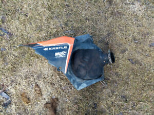 Ktm xcf 2009 250air filter cover with rubber boot