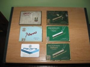 VINTAGE TOBACCO TINS / CIGAR BOX - REDUCED!!!!