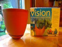 Pot de fleur Vision jamais servi neuf pour cage d'oiseaux