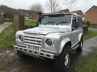 2007 07 Land Rover 90 Defender 2.4TDi County 4 SEATER WITH LOTS OFF EXTRAS