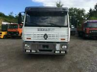 Left hand drive Renault Manager 230hp, manual gearbox.Drop side truck