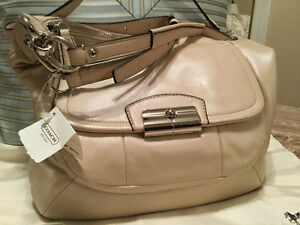 New Coach leather purse