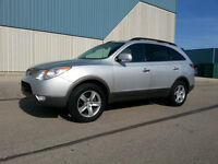 2008 Hyundai Veracruz GLS: 7 PASS/ DVD Player/Leather/Roof.